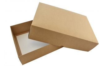 Two pieces cardboard gift box