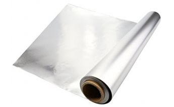Aluminum foil with cutter knife
