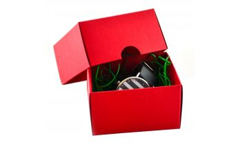 Colored cardboard two-pieces gift boxe