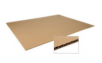 B wave cardboard sheets