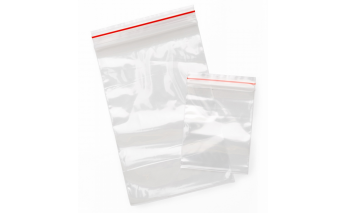 Polyethylene transparent Mini Grip seal bags