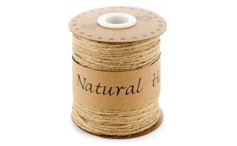Naturaalne pruun linane nöör