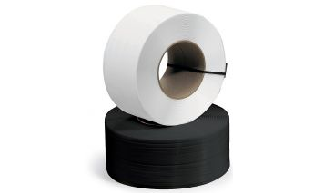 Fastening tape ø200 mm made of PP for bonding of production