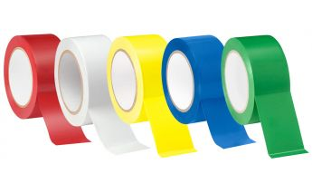 Colored adhesive packaging tape acrylic