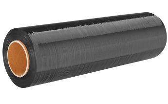 Упаковочная плёнка Stretch чёрная для ручного использования