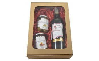 Vein, oliivid ja peperoni-võie