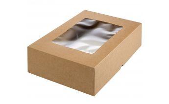 Kaheosaline karp valmistatud paksust papist