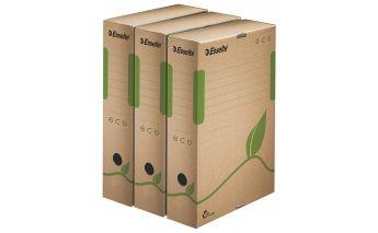Esselte dokumendikarp A4, need karbid on valmistatud 100% taaskäideldud vanapaberist