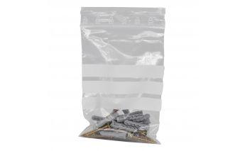 Kirjutusribaga MiniGrip kotid