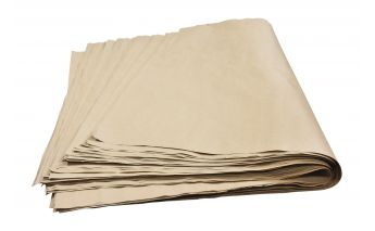 Pruuni ümbertöödeldud värvi paberilehed valmistatud ümbertöödeldud tselluloosist