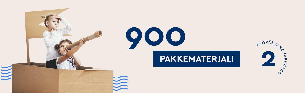 900 pakavimo medžiagų EE